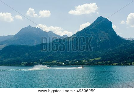 Waterskiing On The Wolfgangsee