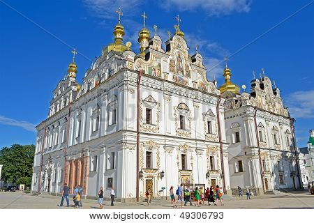 Kiev, Ukraine - Jul 25: Kiev Pechersk Lavra On July 25, 2013 In Kiev, Ukraine.