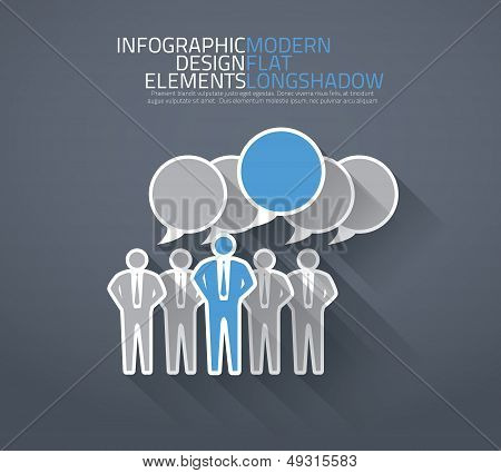 Group of people discussing together vector