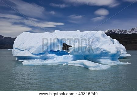 Iceberg on the Lake Argentino
