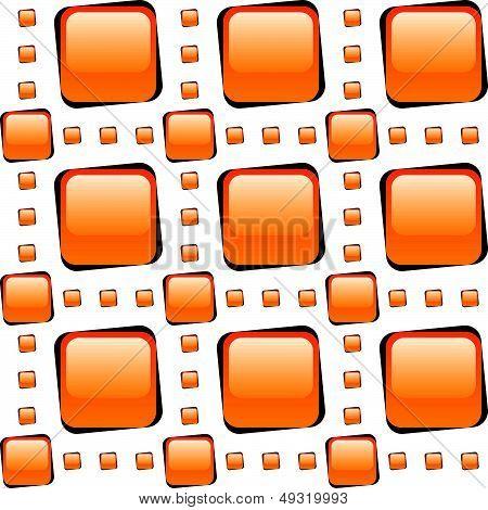 Orange Glass Tiles