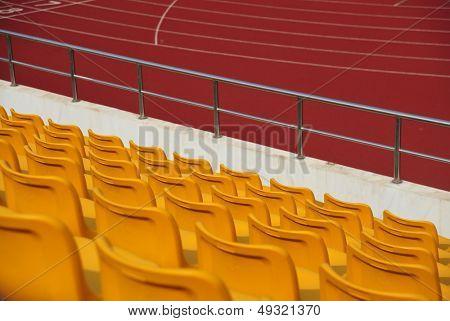 Stadium bleachers