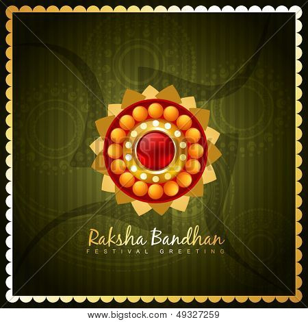 vector hindu festival of rakshabandhan
