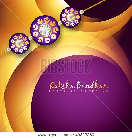 beautiful rakhi background design art