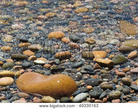 Glistening Rocks