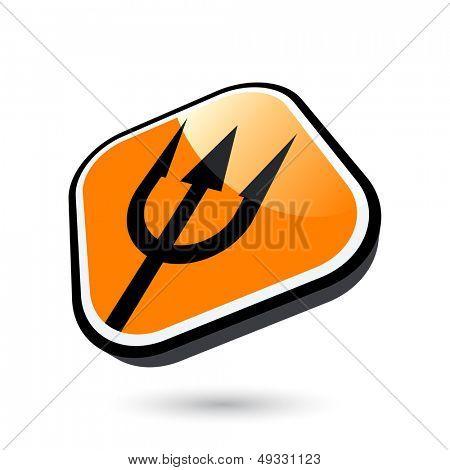 modern trident sign