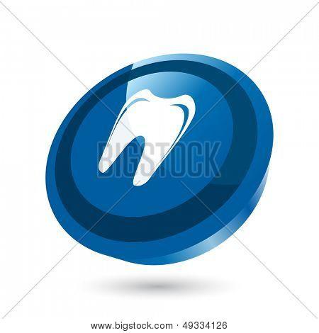 modern dentist sign