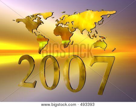 Frohes neues Jahr 2007.