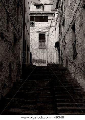 Old Stones Street B/w