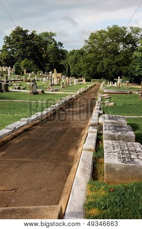 Historic Springwood Cemetery