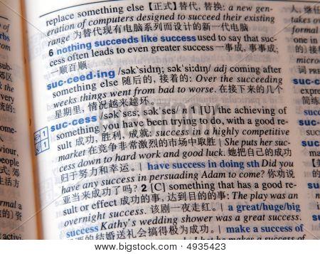 Success In China