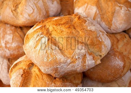 pile of crispy oven breads