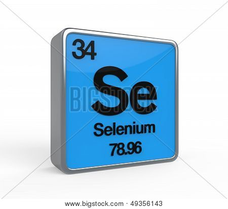 Selenium Element Periodic Table