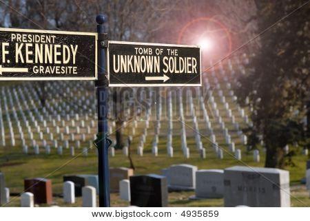 Arlington Cemetery American Soldier