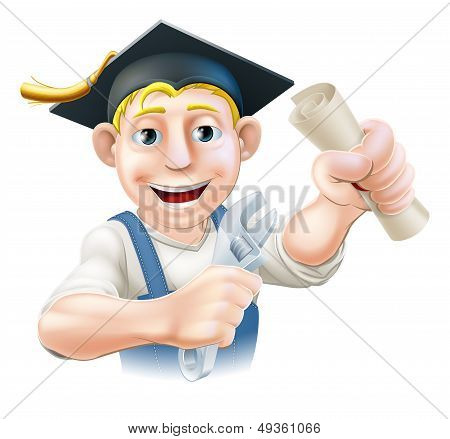 Graduate Plumber Or Mechanic