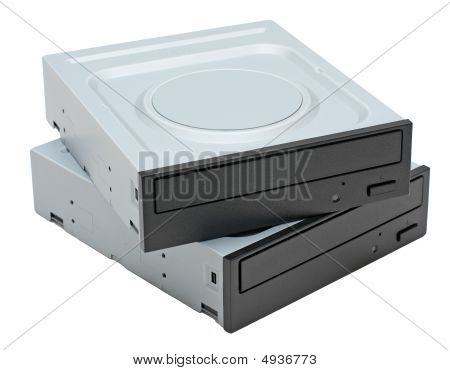 Two Dvd-rom Drives