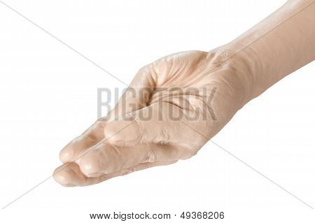 Sex Toy - Hand Prosthesis For Fisting Close Up