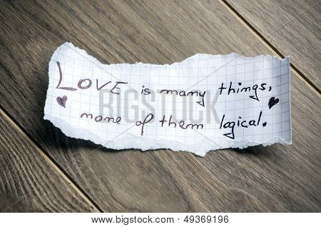 Love Is Many Things