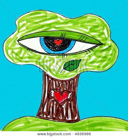 Apple Of My Eye Tree