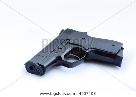 Handgun Isolated On White