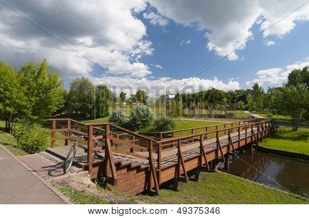 New Wooden Bridge