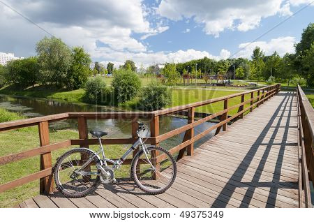 Bicycle On The Bridge
