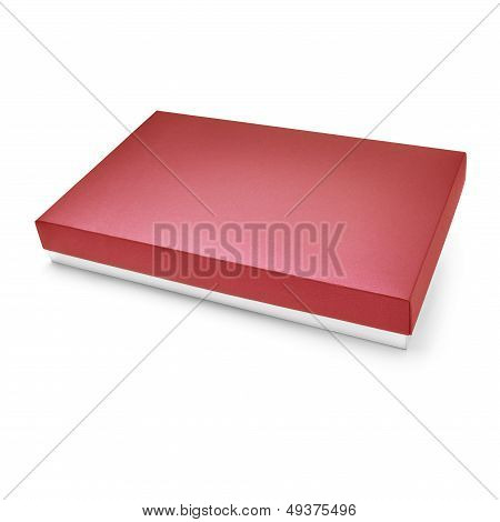 Red Color Carboard Box