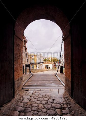 Portal De Ses Taules In Ibiza Town