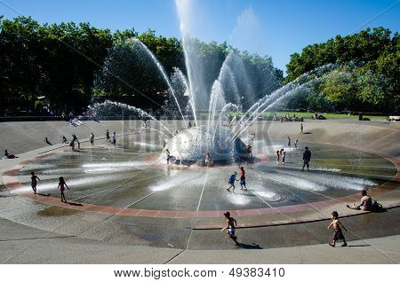 Seattle Center International Fountain