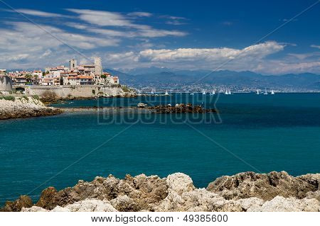 Cityscape Of Antibes