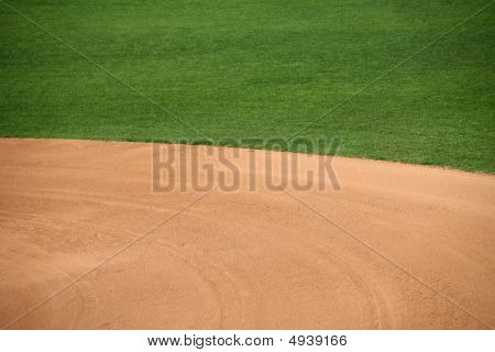 American Baseball Field Natural Background