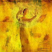 picture of seer  - Woman in visualization metaphor - JPG