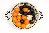 Fruits, Vitamins, Balance, Yin & Yan poster