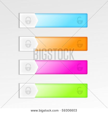 Mobile Device Interface Sliding Elements
