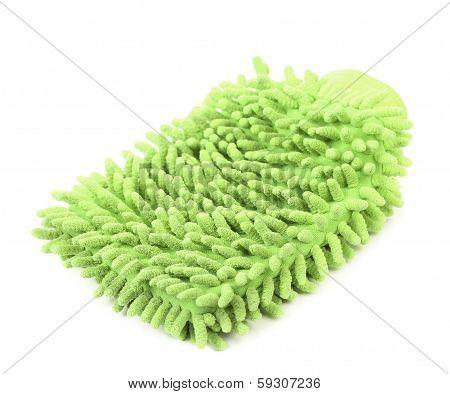 Hand bath sponge glove