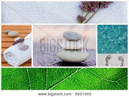 Spa Background Tranquil Scene