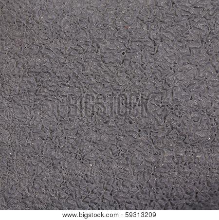 Close up of black texture.