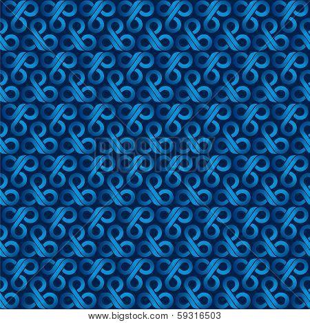 creative blue design pattern background vector