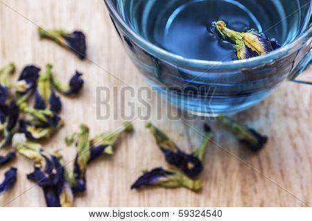 Herbal Blue Tea