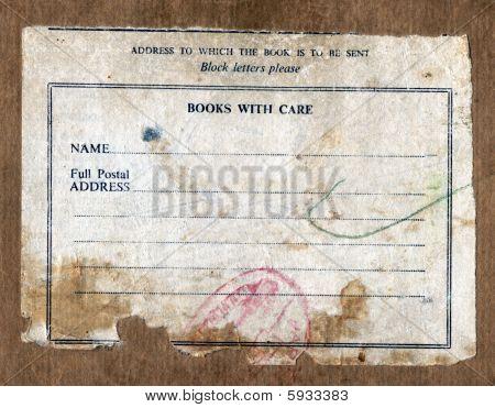 Book Box Delivery Label