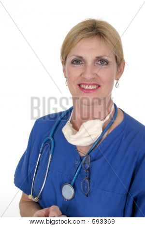 Confident Doctor Or Nurse 8