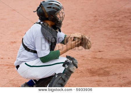 Baseball Game Catcher