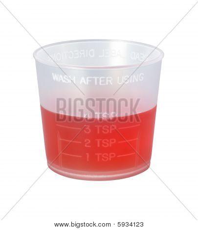Cough Syrup Medicine Cup