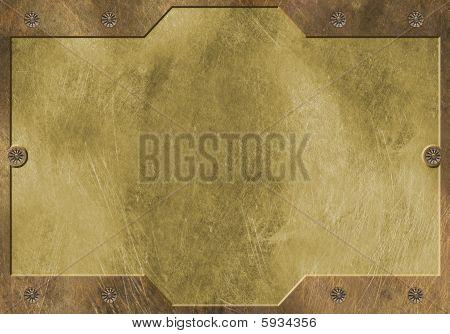 Brass Metal Frame