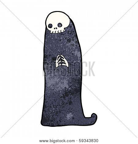 cartoon halloween ghoul