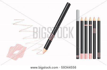 cosmetic lip liner