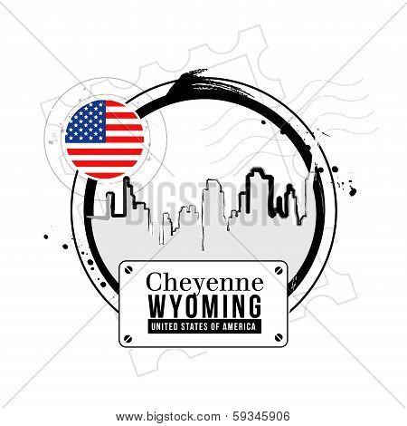 stamp Cheyenne