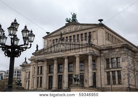 Concert hall (Konzerthaus) in Gendarmenmarkt. Berlin, Germany