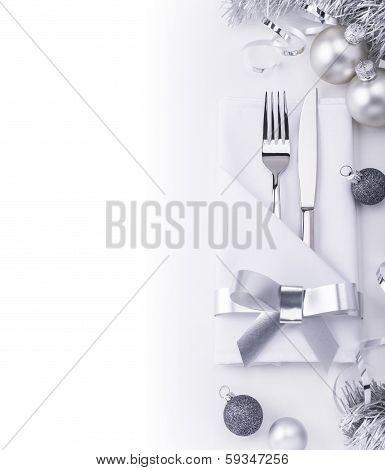 New Year Restaurant Table Set