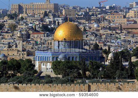 Dome Of The Rock, Jerusalem Old City